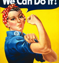 Rosie the Riveter Wasn't First
