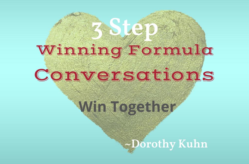 3 Step Winning Formula Conversations