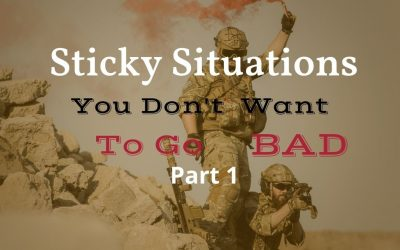 Sticky Situations You Don't Want to Go Bad at Work, Part 1