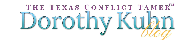 Texas-Conflict-Tamer-Dorothy-Kuhn-Blog-BANNER